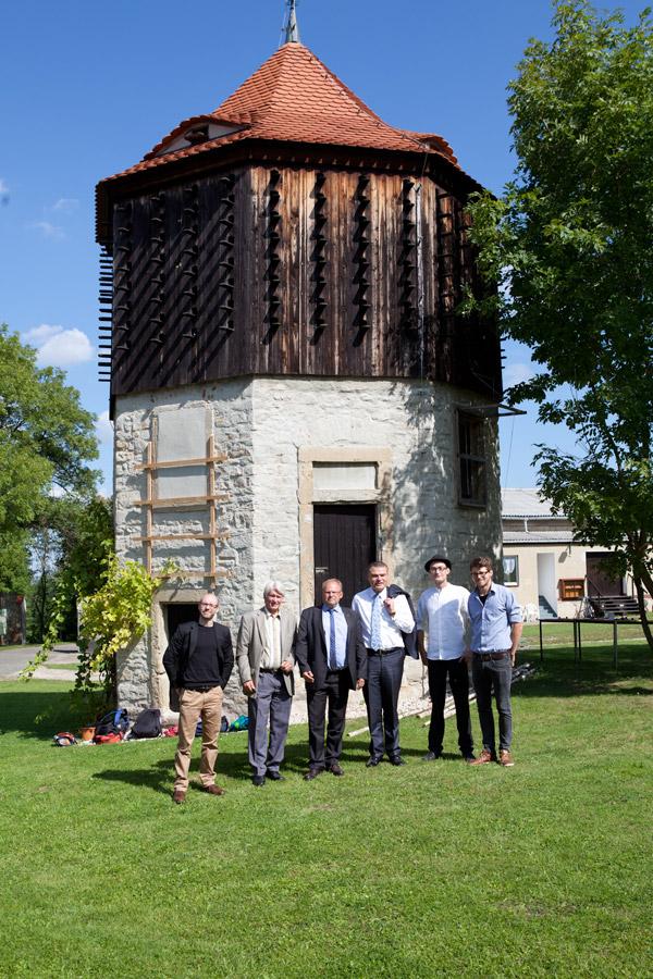 Minister sichert Unterstützung zu – Innenminister Stahlknecht zu Besuch auf Posa