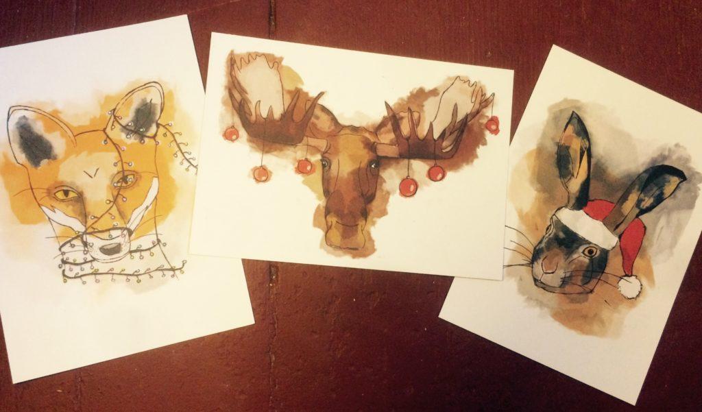 Posa Weihnachtskarten