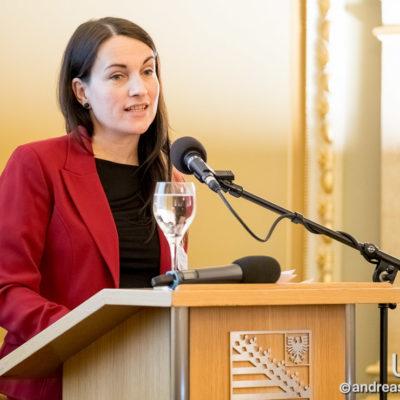 Laudatorin Susanne Eva Dörrwand, Vorsitzende der IHK Magdeburg