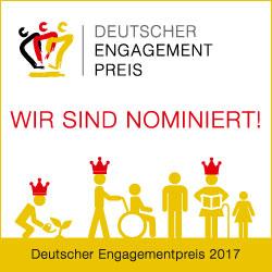 POSA nominiert für Deutschen Engagementpreis 2017