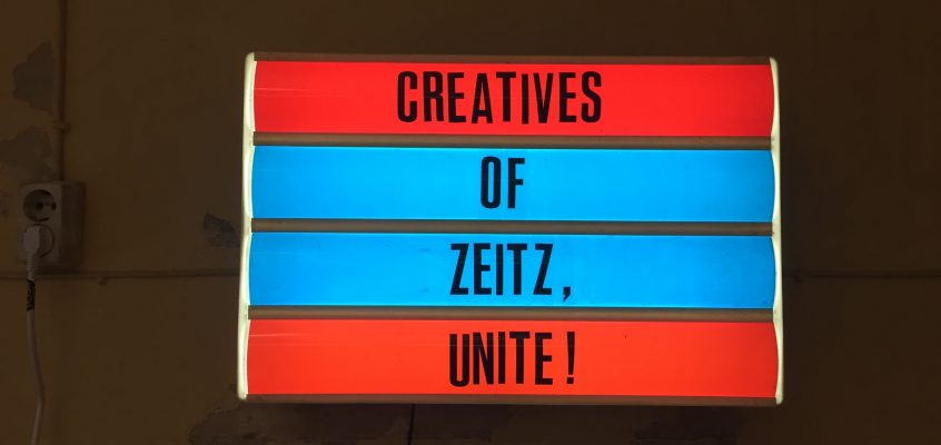Creatives of Zeitz, unite!