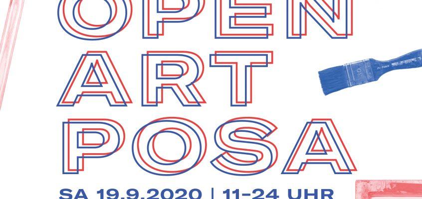 OPEN ART POSA – Kunst- und Ateliertag in Zeitz